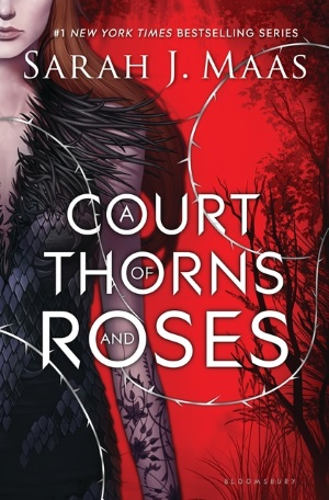 Cover von A Court of Thorns and Roses von Sarah J. Maas. Copyright: Bloomsbury Publishing.
