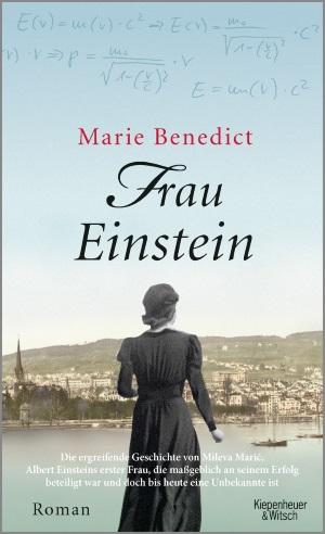 Cover von Frau Einstein von Marie Benedict.