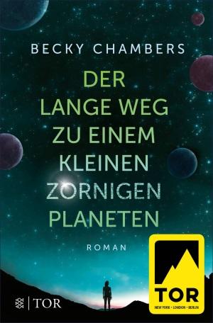 Cover von Der lange Weg zu einem kleinen zornigen Planeten von Becky Chambers.