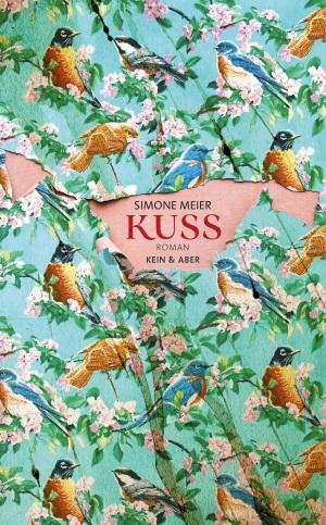 Cover von Kuss von Simone Meier.