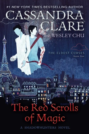 Cover von The Red Scrolls of Magic von Cassandra Clare.