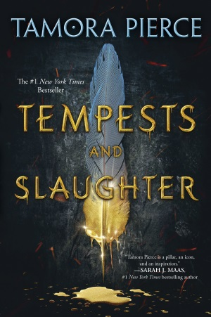 Cover von Tempests and Slaughter von Tamora Pierce.