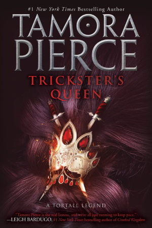 Cover von Trickster's Queen von Tamora Pierce.