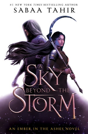 Cover von A Sky Beyond the Storm von Sabaa Tahir. Copyright: Penguin Random House.